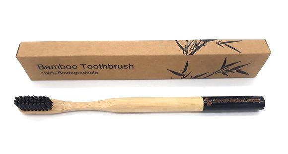Black Bamboo Toothbrush