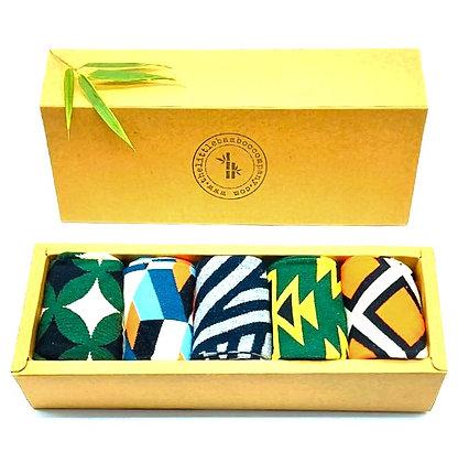 Organic Cotton Socks Gift Box