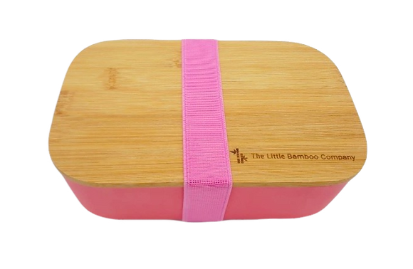 Coral Bamboo Lunchbox