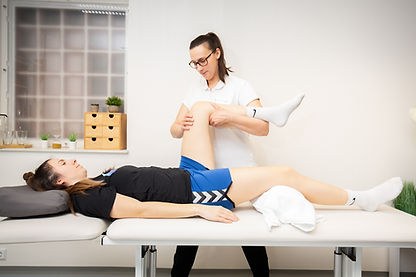 Physiotherapie-passiv-Knie