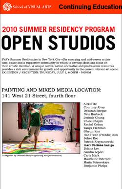 School of Visual Arts NYC 2010