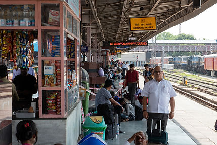 Train Station Jaipur