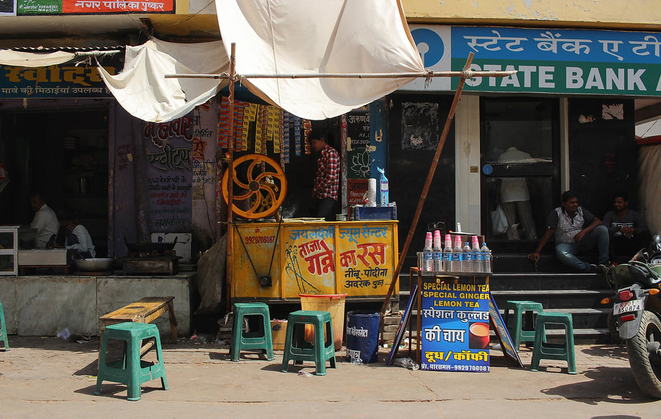 Street Vendor Pushkar India