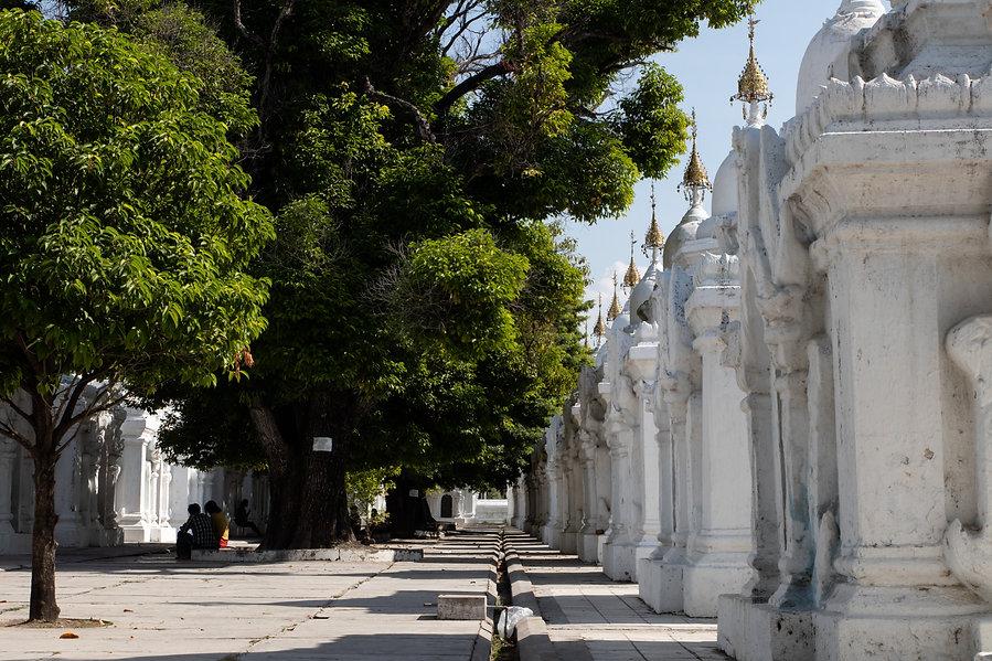 Kuthodaw pagoda in mandalay myanmar picture by hungrigaufmeer