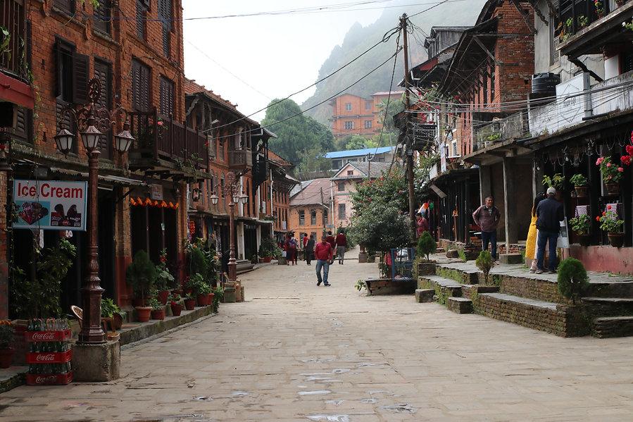 Main Street in Bandipur Nepal