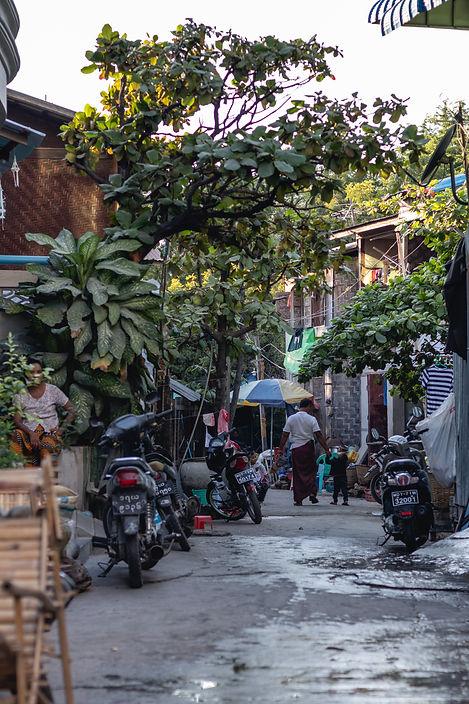 street of mandalay myanmar picture by hungrigaufmeer