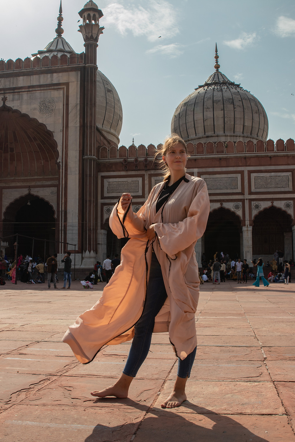 Visit of the Jama Masjid Mosque in Old Delhi