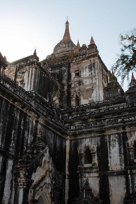 Thatbinnyu-Tempel in Bagan Myanmar. Picture by hungrigaufmeer.