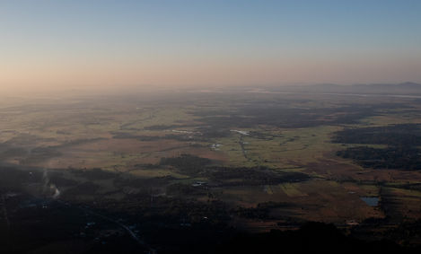 View overthe region near Hpa-an from mount zwegabin Myanmar (Hungrigaufmeer)