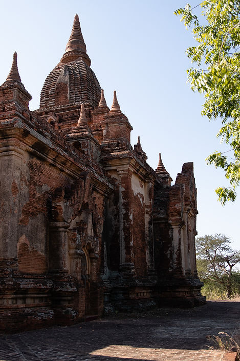 Pagoda in Bagan Myanmar. Picture by hungrigaufmeer.