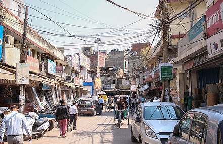 Streets of New Delhi
