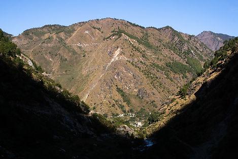 Syapru Besi Lang Tang Valley Nepal Asia Sunrise