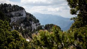 Wanderrundweg auf den Mont Granier (1933m) im Parc Regional de la Chartreuse in Frankreich