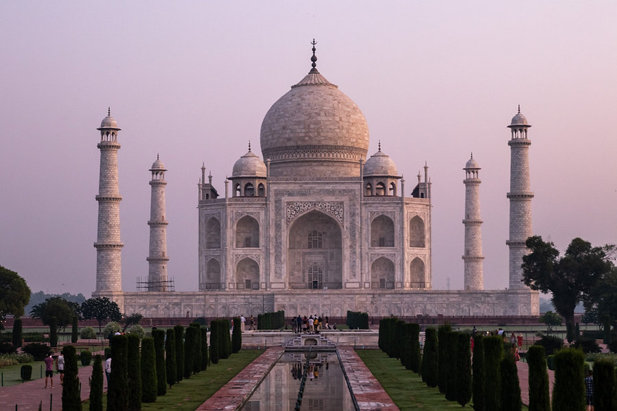 Agra, Taj Mahal Sonnenaufgang