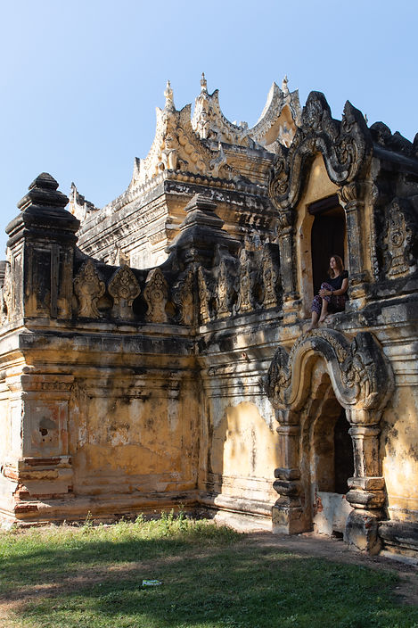 Me Nu Brick Kloster in Myanmar