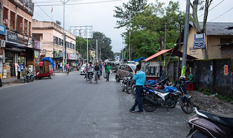 Streets of Bongaigaon, Assam India