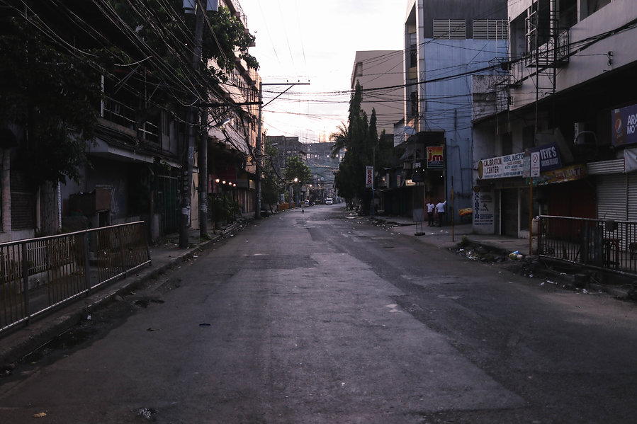 Cebu City during morning time. The Phillipines