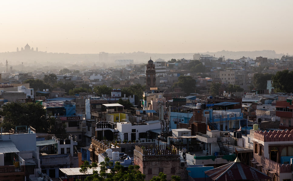 Jodhpur city view sunrise