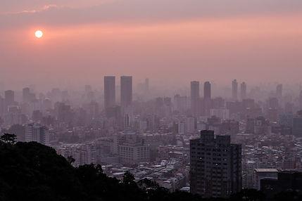 Sunset Taipei Taiwan