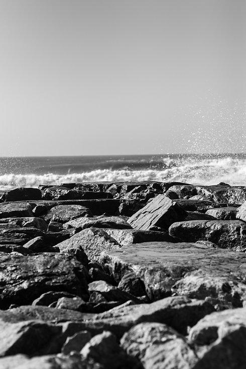 Aveiro portugal sea water waves