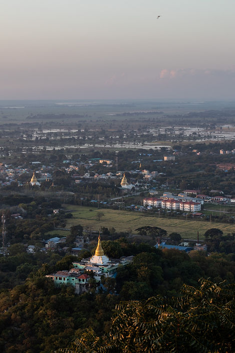 view from mandalay hill in mandalay myanmar picture by hungriaufmeer