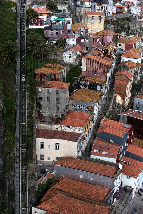 Streets of Porto in Portugal