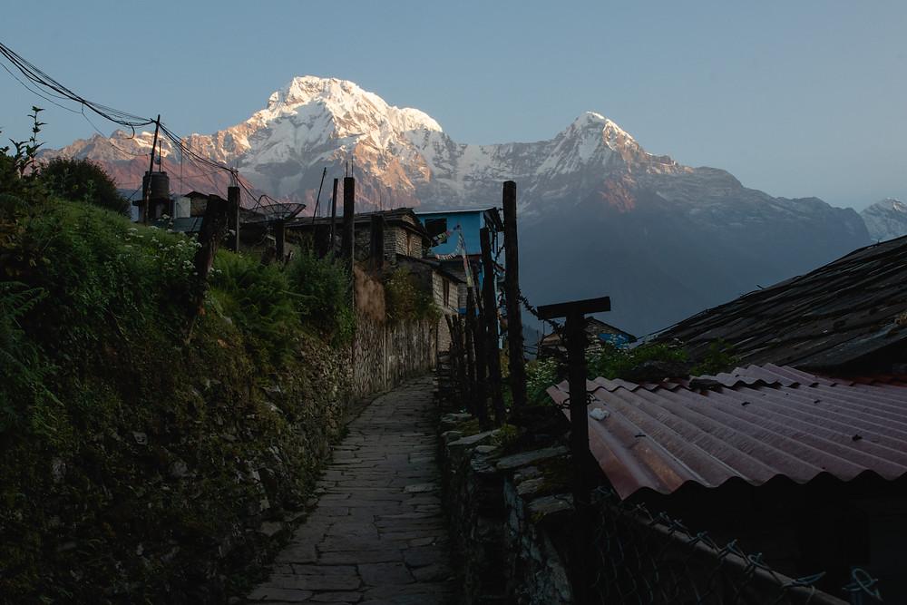 Ghandruk (1080m), the last village on our Poon-Hill-Trek