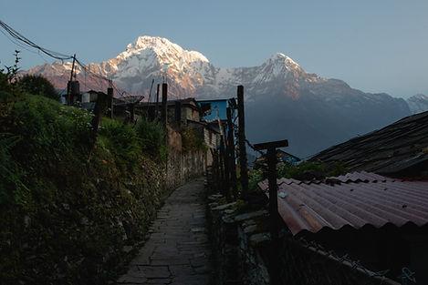 Ghandruk Nepal Annapurna national parc