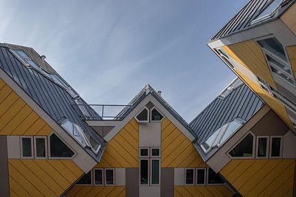 Kubushaus in Rotterdam Holland Niederlande