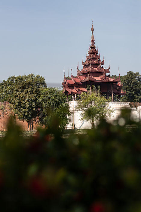 royal palace in mandalay picture by hungrigaufmeer