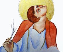 Evangeliste carolingien, 2018