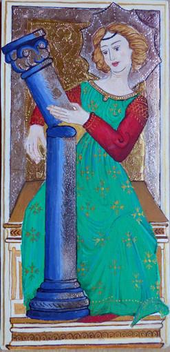 La Force, d'après le tarot dit de Charles VI