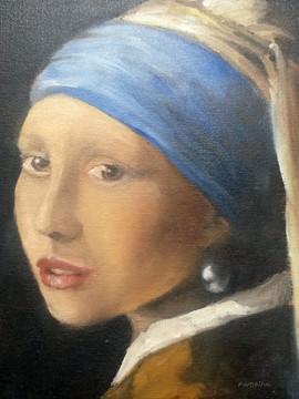 D'après Vermeer