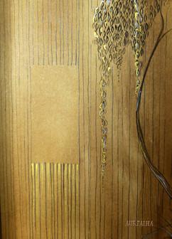 Triptyque panneau lateral droit detail.