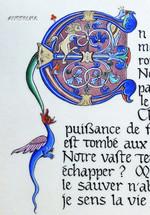 """Lettrine (détail) """"Projet Alienor d'Aquitaine""""2019"""