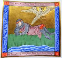 Le songe Nascien,  manuscrit de la BNF, Francais 95 ,1280 1290