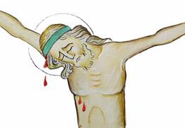 Essai Christ en croix, 2018
