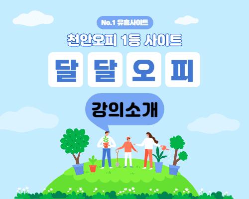 천안오피 정규 강의 소개