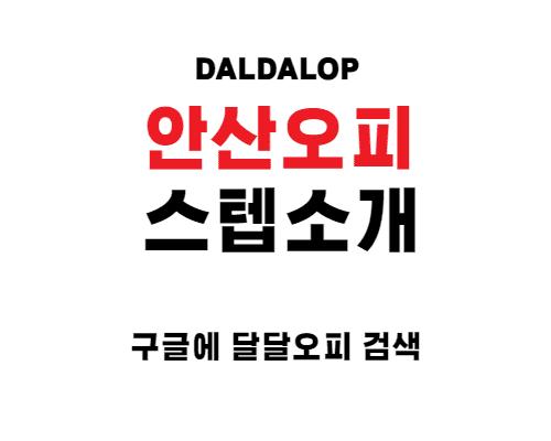 안산오피 정규 스텝 소개