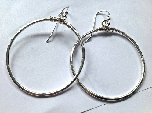Not your typical big hoops!