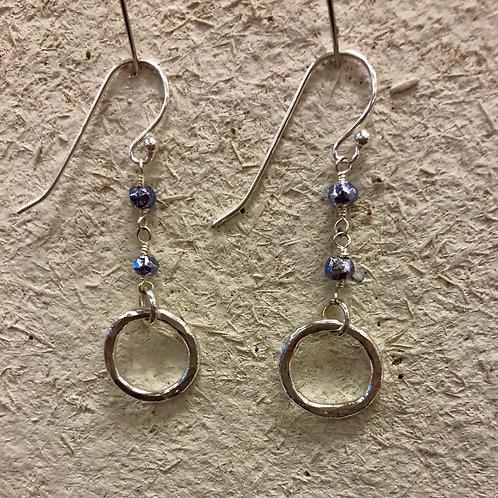 Tanzanite sweet drop earrings
