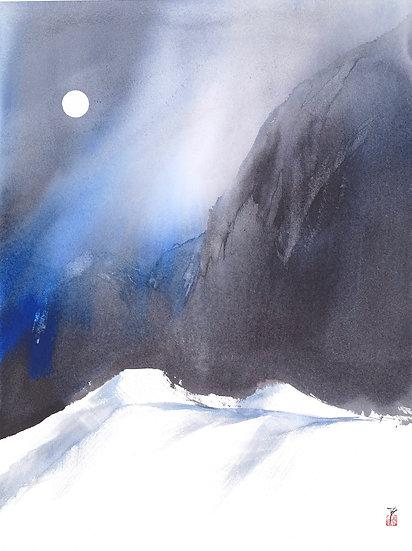 Moonrise, Winter