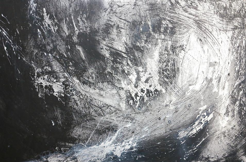 Homage to Turner's Snowstorm at Sea