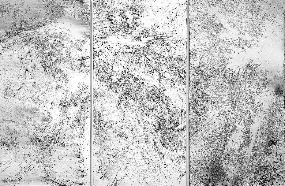Protolandscape 1, 2015, acrylic on canva