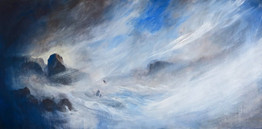 Passing Storm 1828x914mm