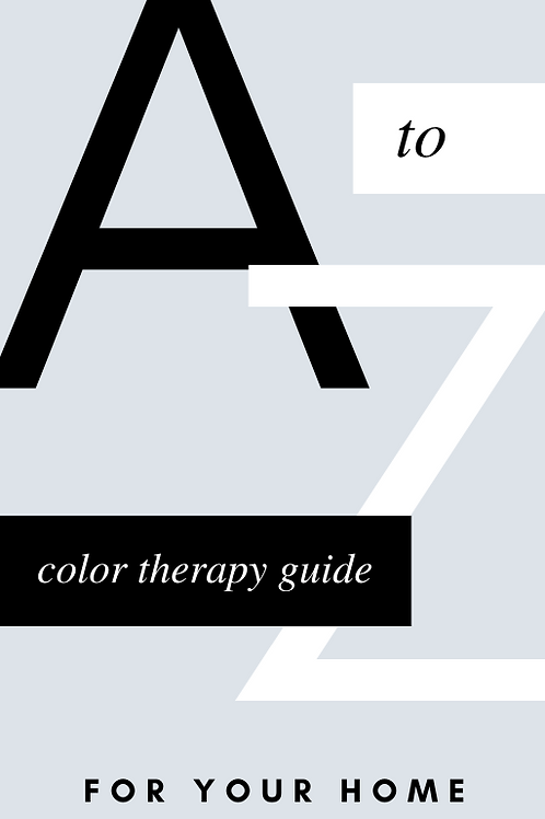 Your Guide To Color Therapy