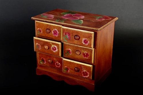 Cajonera de madera decoración Pinceladas