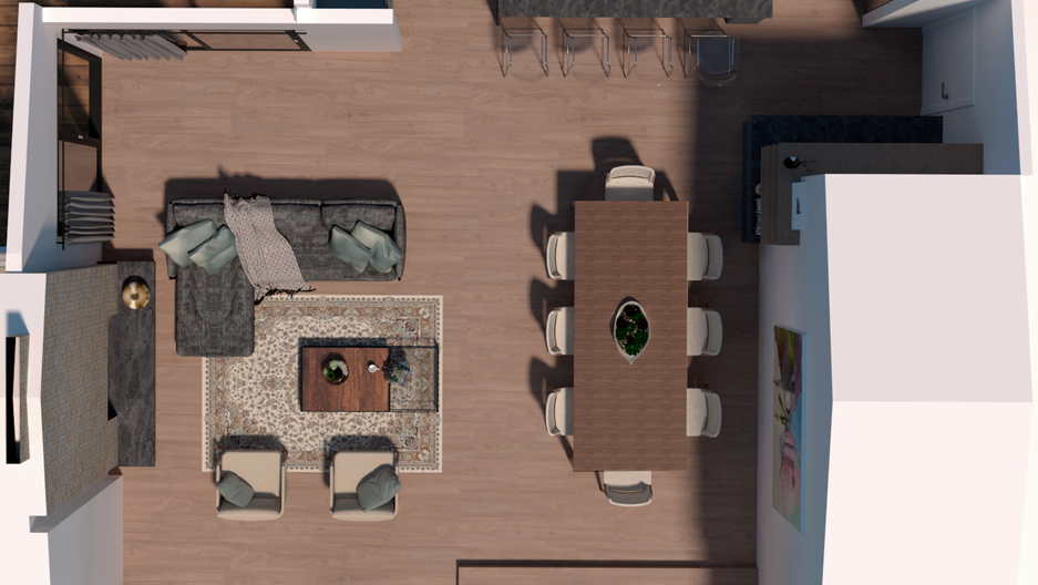 New Floor Plan Layout