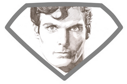 Superman with shield