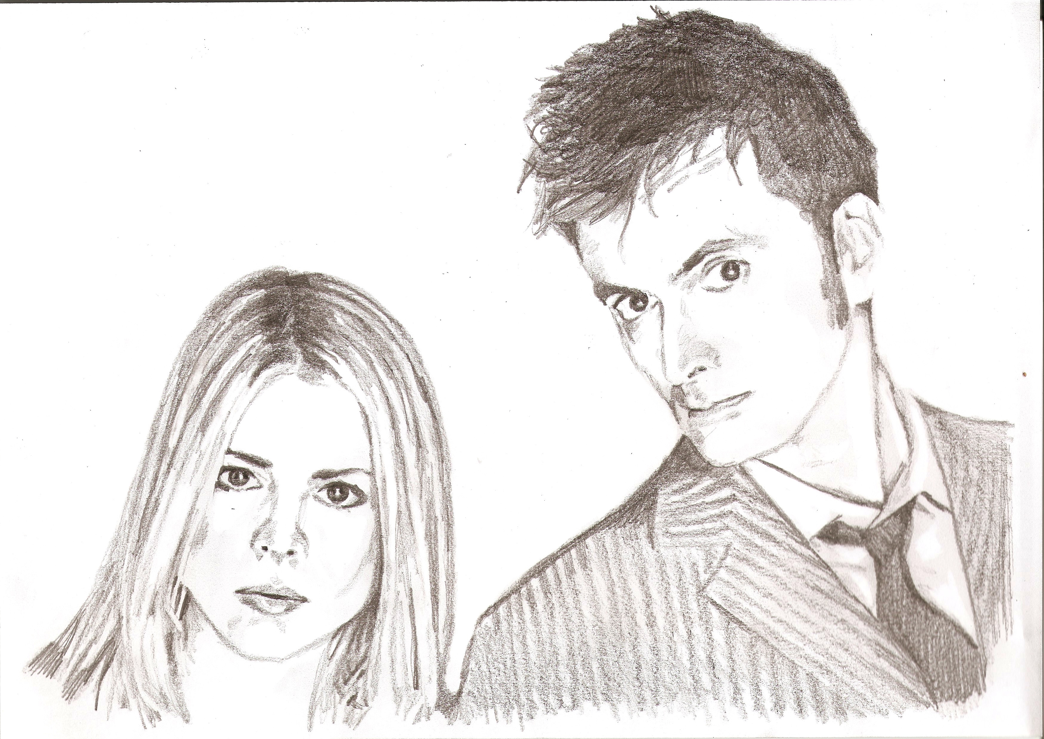 Rose and the Doctor together